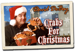 david deboy - crabs for christmas